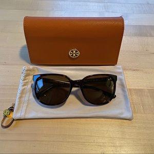 Tory Burch Polarized Sunglasses - Tortoise